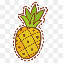 260x261 Cartoon Pineapple Png, Vectors, Psd, And Icons For Free Download