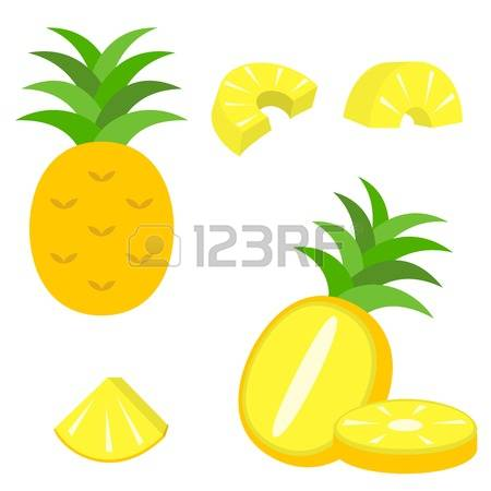 450x450 Pineapple Clipart Vector