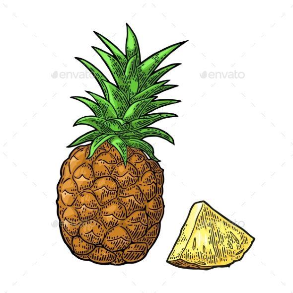 590x590 The Best Pineapple Vector Ideas Geometry Art