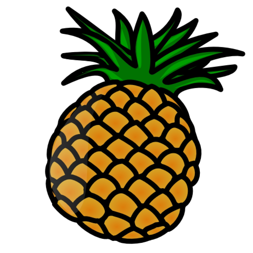 1024x1024 Pineapple Vector Png Clipart Panda Free Clipart Imagestop 20 Png