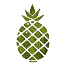 256x256 Pineapple Clipart Simple