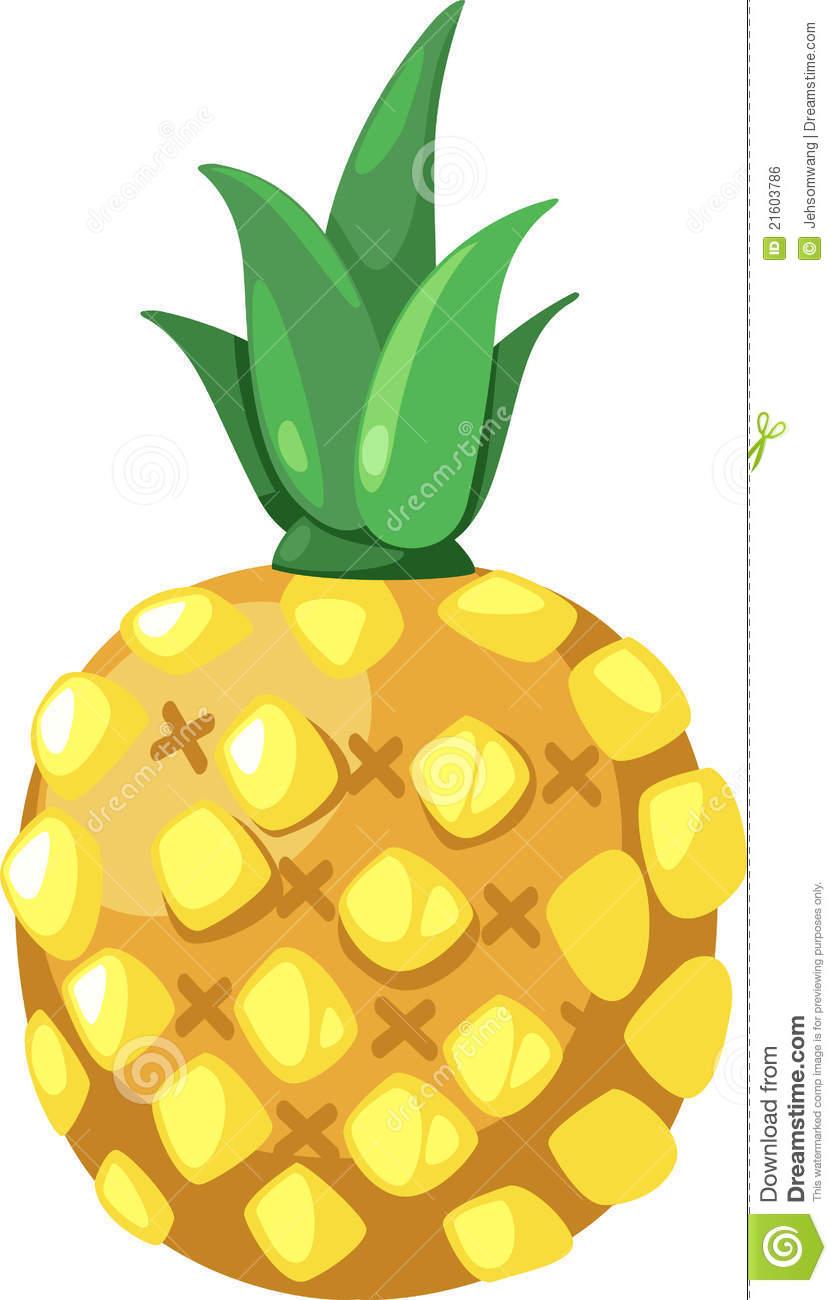 837x1300 Pineapple Vector Clipart Panda