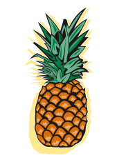 169x235 Pineapple Vector Art Illustration Pineapplee Free
