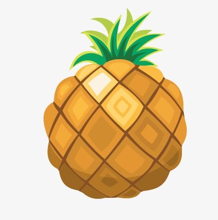 441x446 Pineapple, Vector Pineapple, Cartoon Pineapple Png And Vector