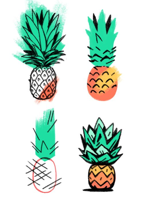 500x711 53 Best Pineapple Images Pinecone, Comic And Pictures