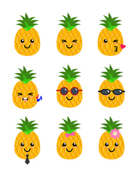 272x350 Pineapples Clipart, Pineapple Svg, Pineapples With Sunglasses, Fruit