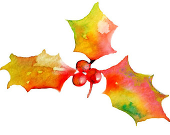340x270 Watercolor Pinecone Clip Art For Scrapbooking Holiday Season Pine