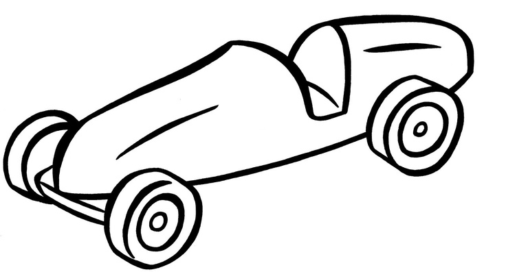 736x397 pinewood derby clipart