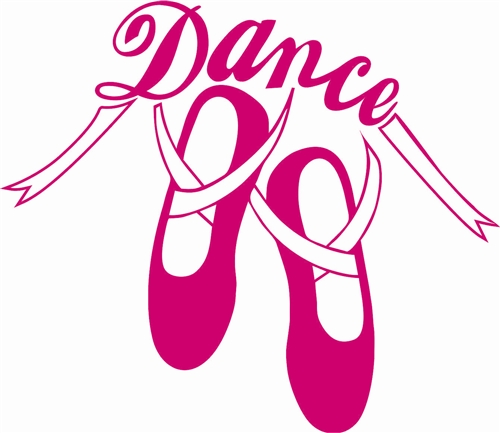 500x433 Dance Shoes Ballerina Clipart