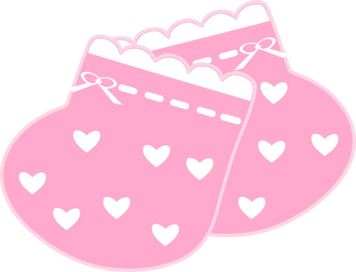 736x561 Graphics For Pink Baby Booties Graphics