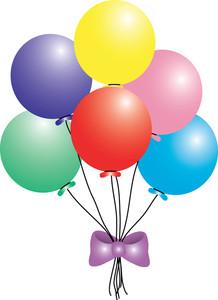 218x300 Free Balloons Clip Art Image