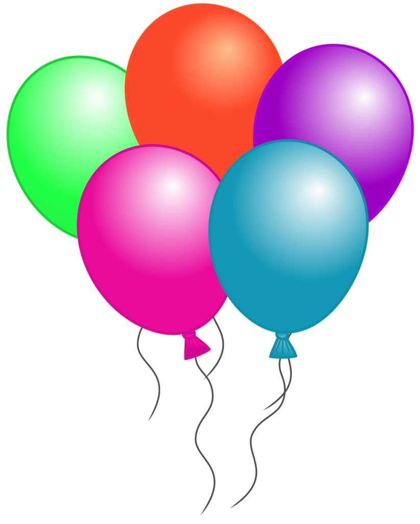 822x1024 Free Birthday Balloon Clip Art Free Clipart Images Balloons