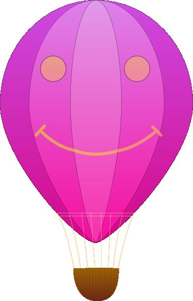 384x597 Happy Hot Air Balloon Cartoon Clip Art Free Vector 4vector
