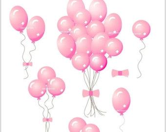 340x270 On Sale Balloons Clip Art Instant Download Digital Clip Art