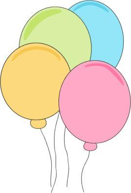 269x397 Pink Balloons Clipart 101 Clip Art