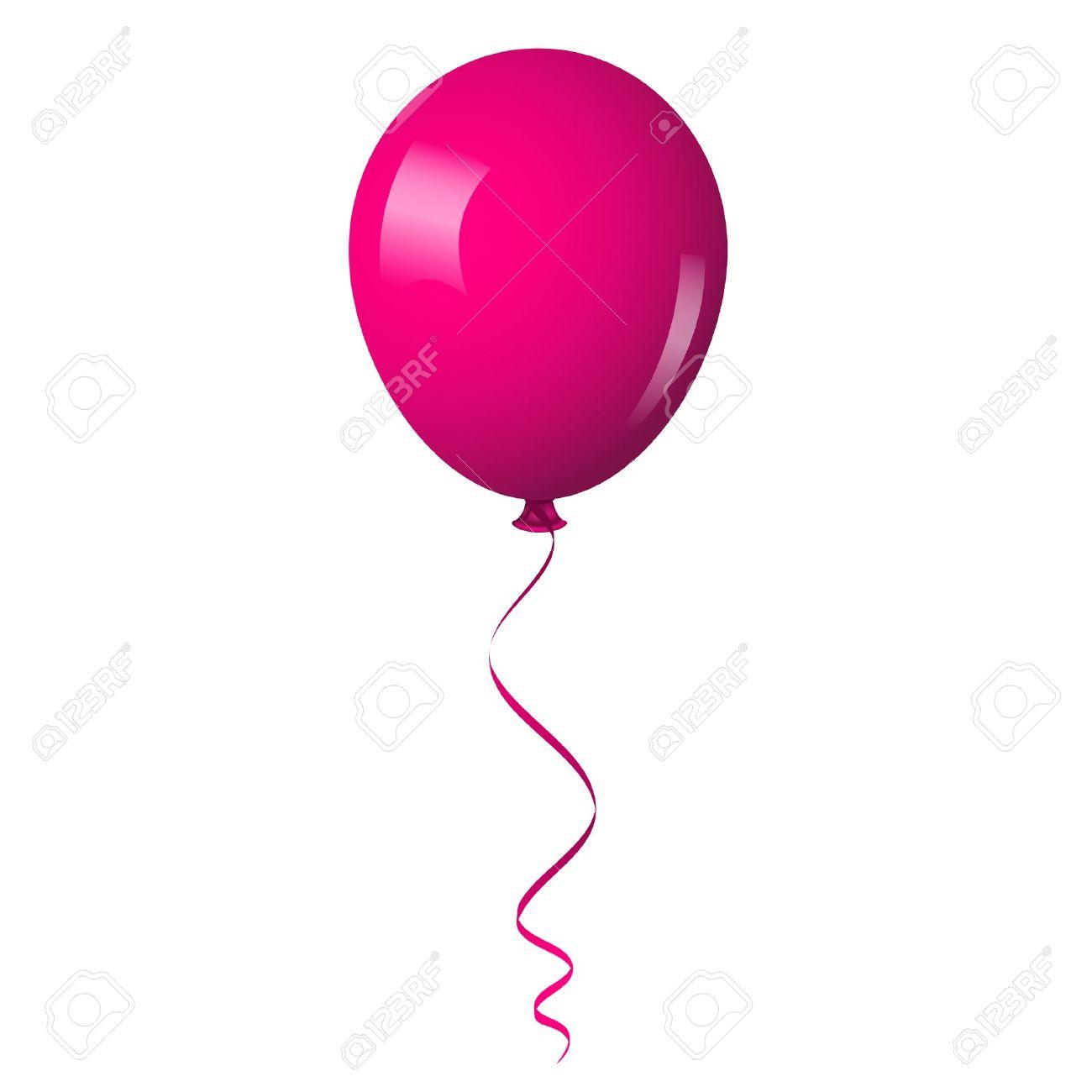 1300x1300 Pink Balloon Clipart