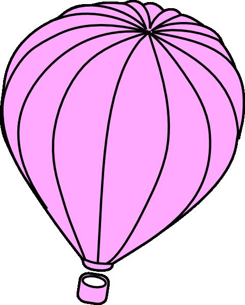 480x597 Balloon Clipart Light Pink
