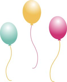 236x289 Balloons Png Picture Kunterbunt Birthdays, Happy