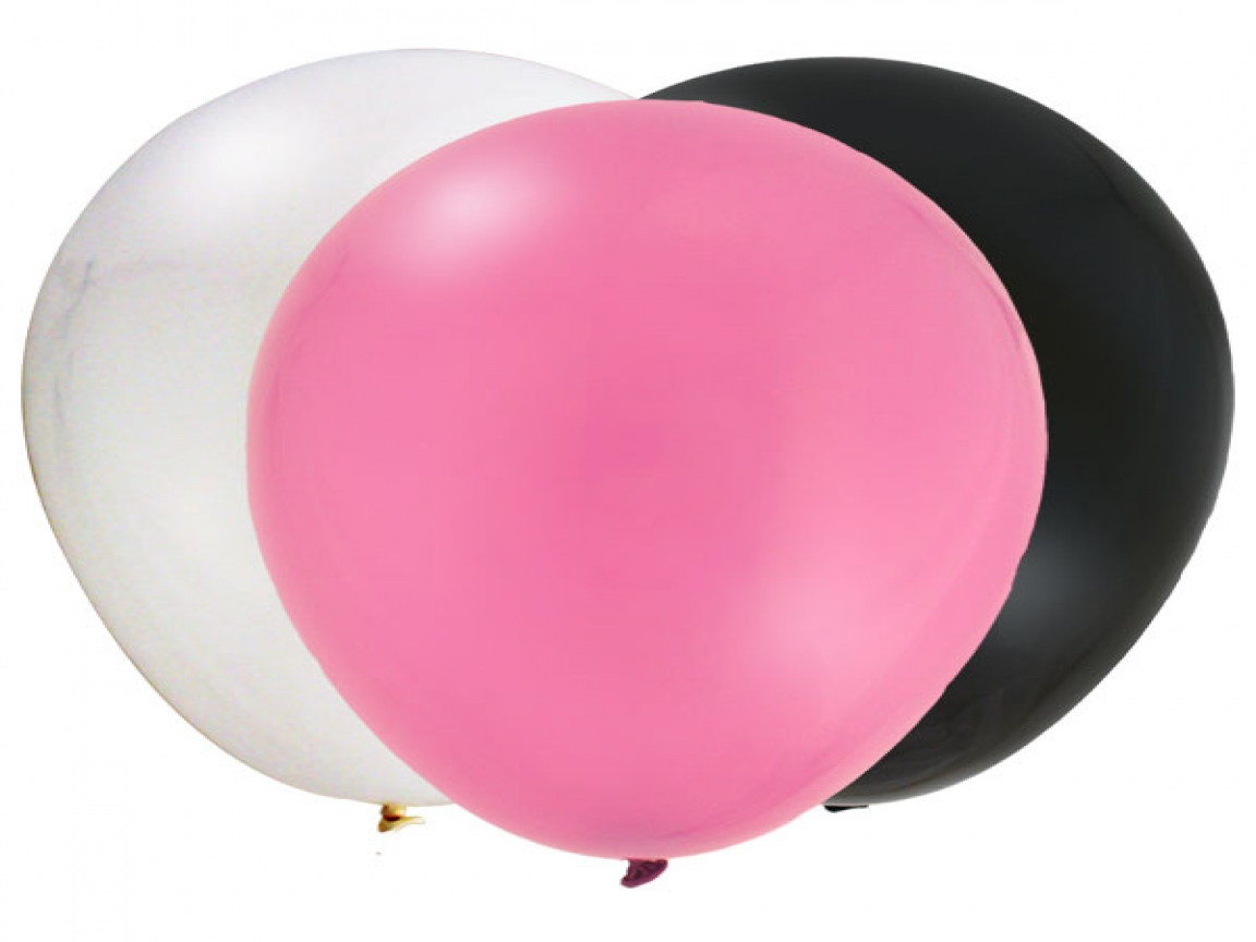 1152x864 Free Room Planners, Pink Black Balloons Clip Art Pink