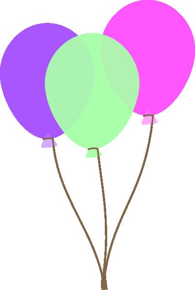 402x596 Pink Balloons Clipart 101 Clip Art