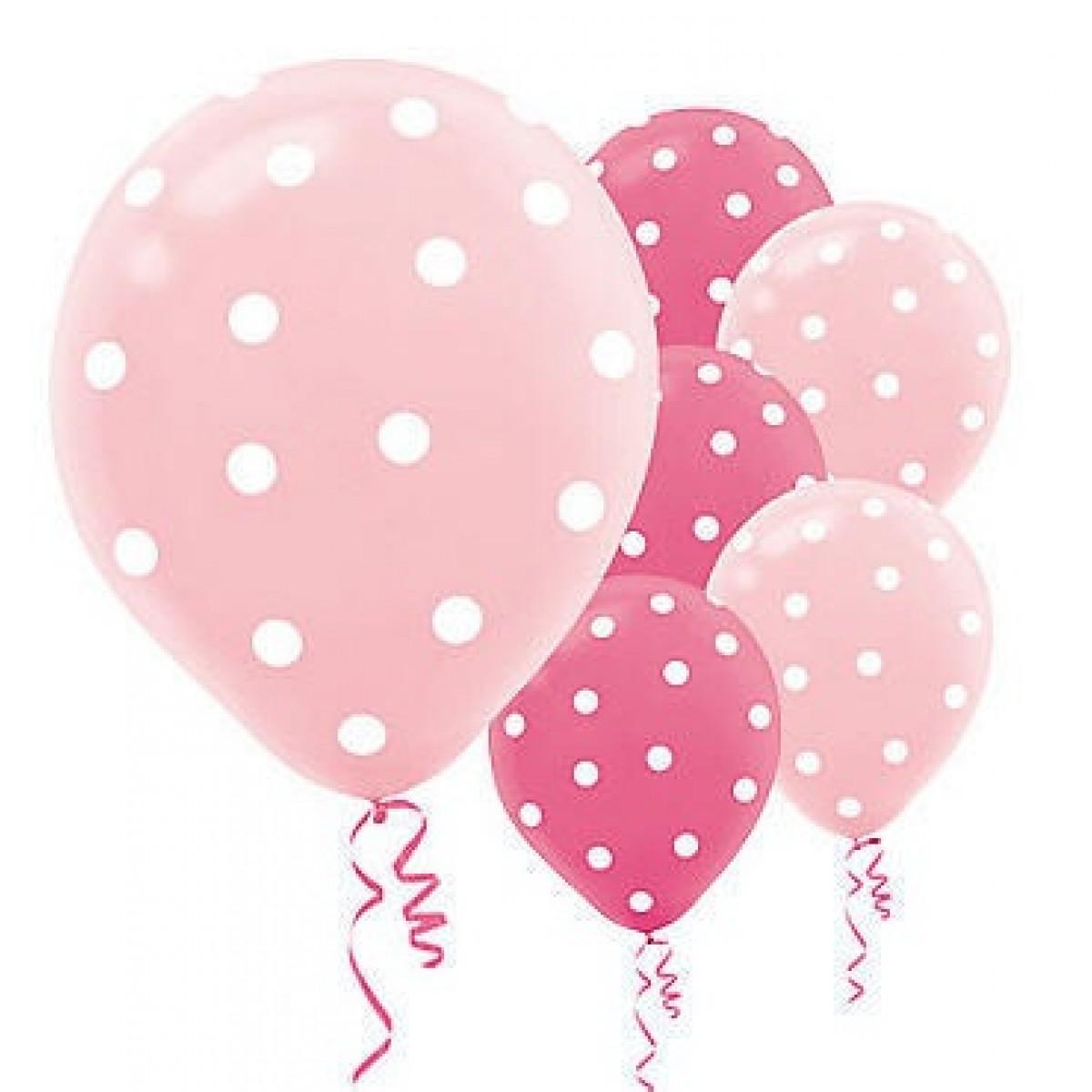 1200x1200 Pink Birthday Balloons Clipart