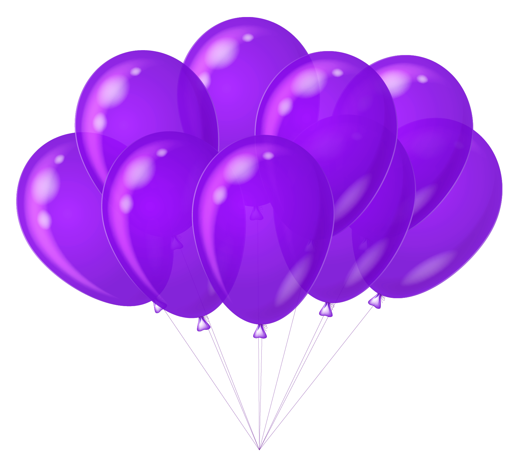 1701x1533 Transparent Purple Balloons Clipartu200b Gallery Yopriceville