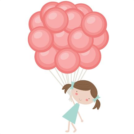 432x432 Balloon Clipart Girly