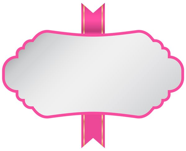 Pink Banner Clipart