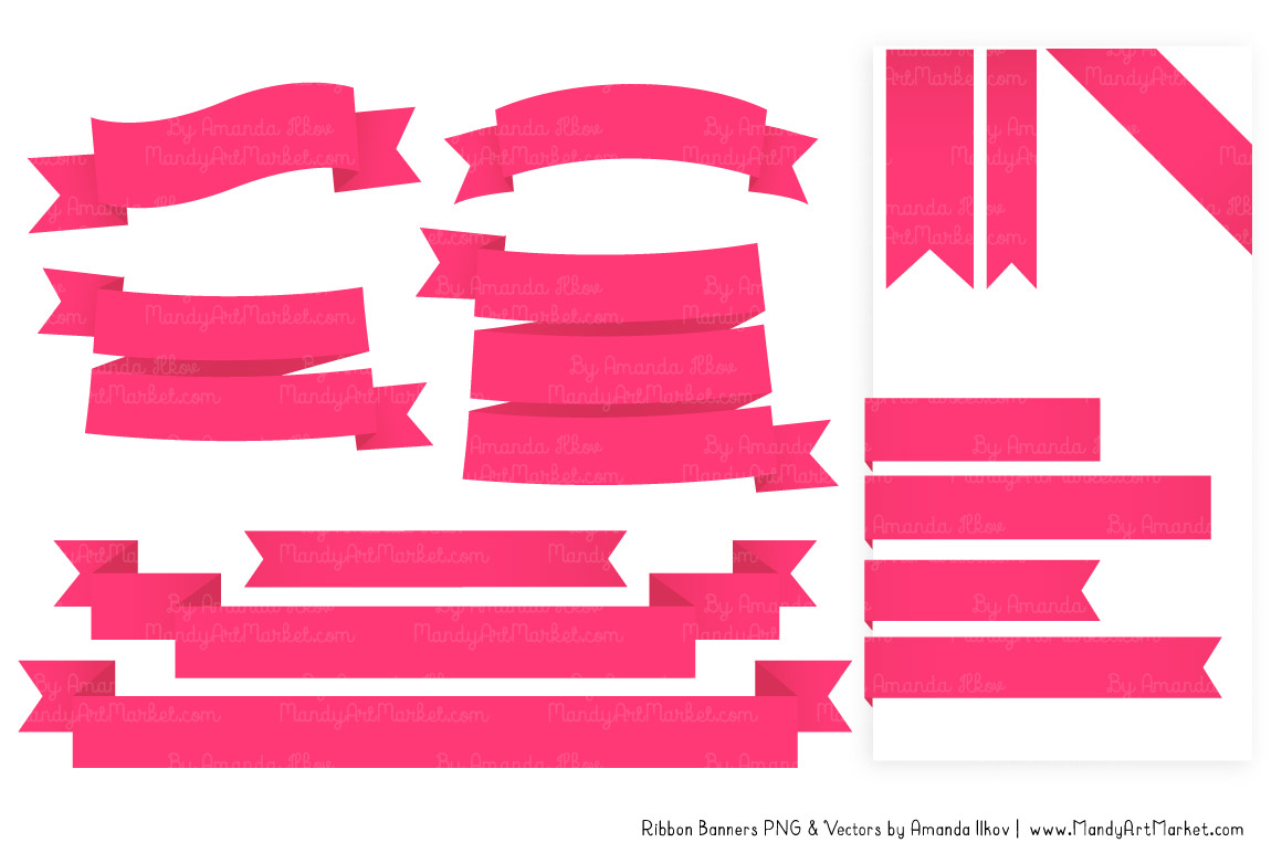 Pink Banner Clipart | Free download on ClipArtMag