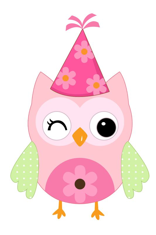 Pink Birthday Hat Clipart