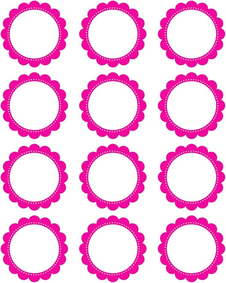 736x919 Circle Clipart Pink Circle