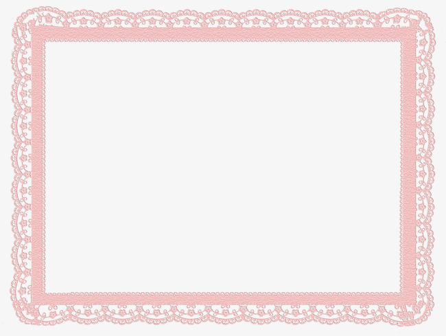 650x489 Pink Lace Border, Frame, Decorative Borders, Decorative Border Png