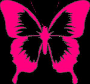 299x279 Glitter Clipart Pink Butterfly