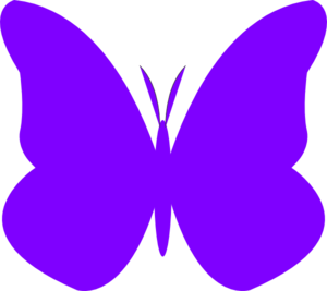 300x267 Butterfly Clipart Lilac