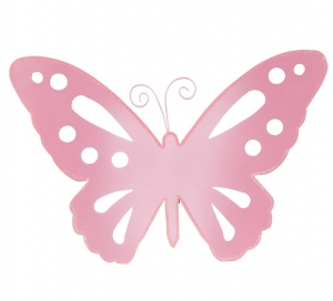300x272 Pink Butterfly Shape Clipart