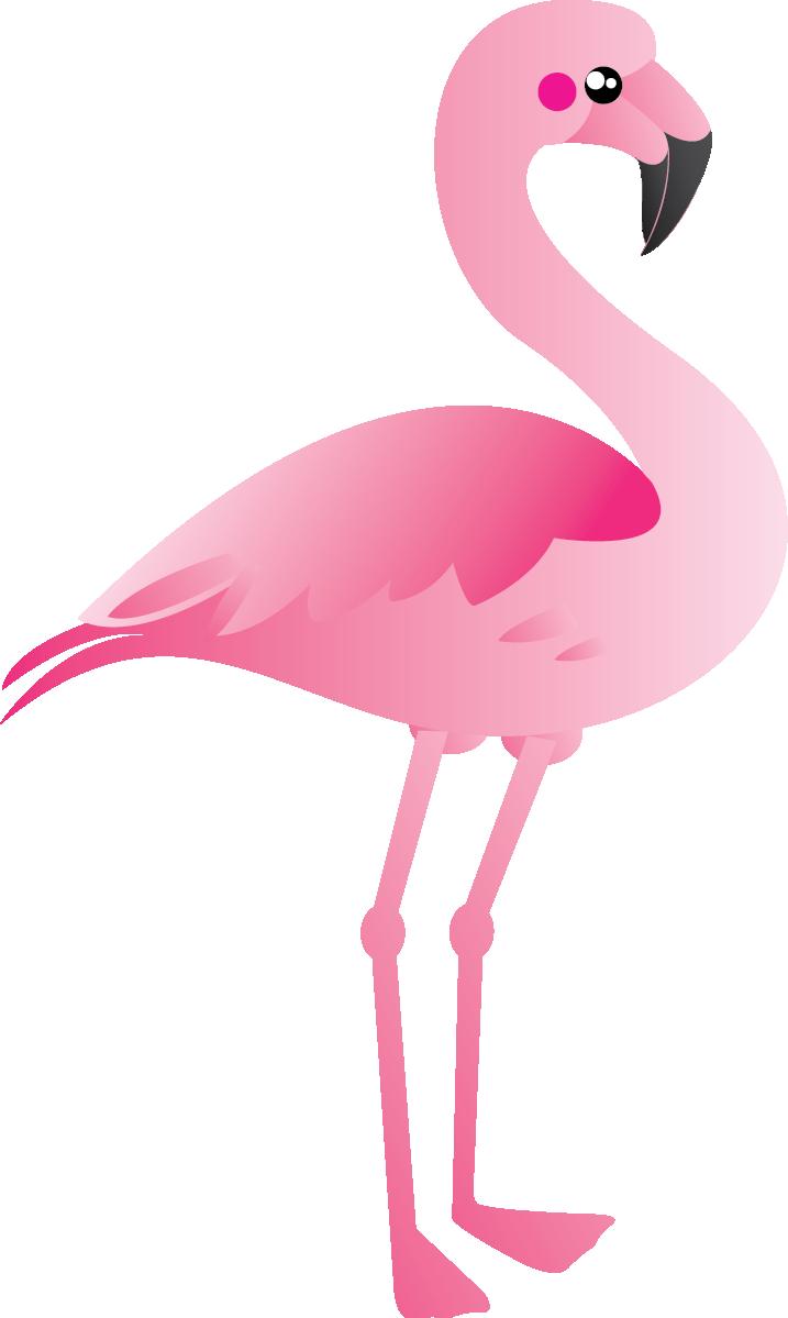 717x1199 Pink Flamingo Clip Art
