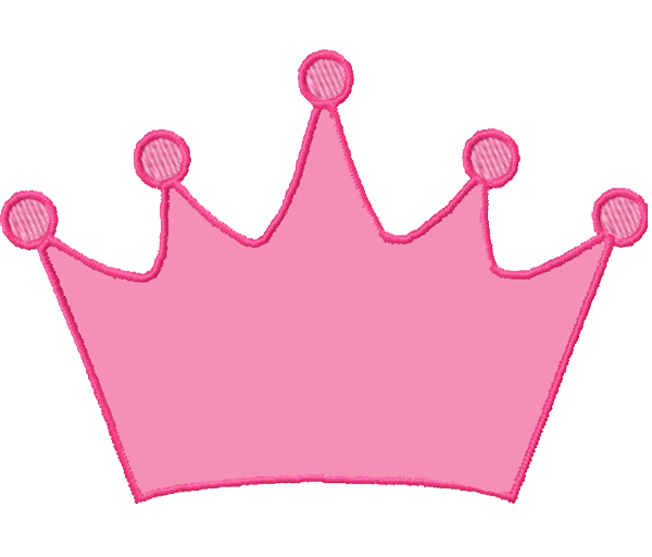 600x512 Pink Princess Crown Clipart