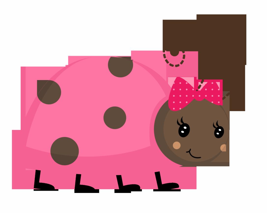 1087x870 Pink Clipart Ladybird