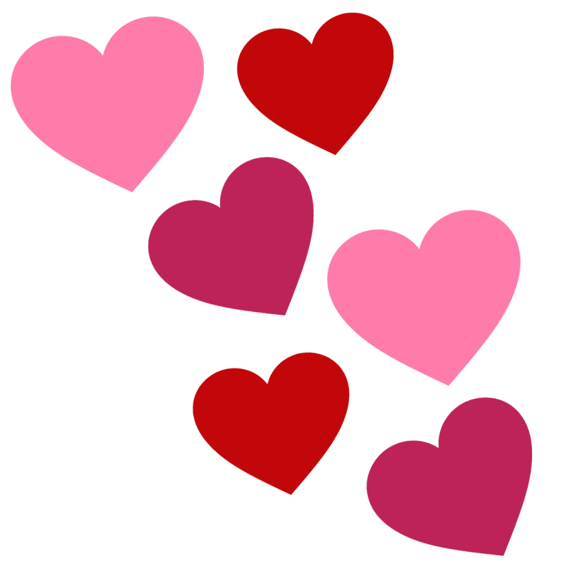 830x830 Pink Clipart Red Heart