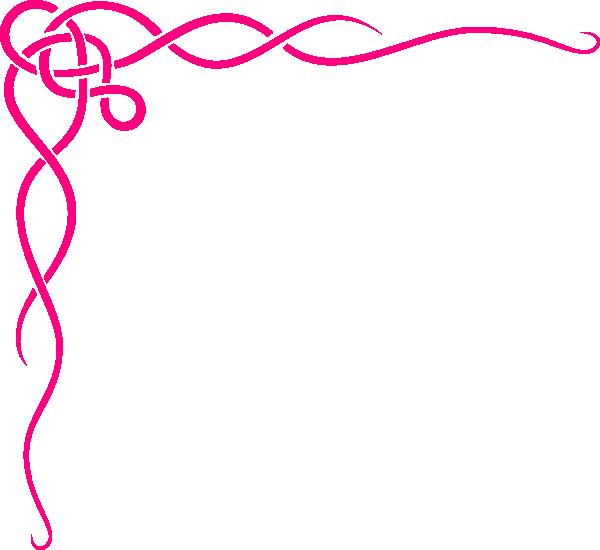 600x550 Swirl Border Clip Art