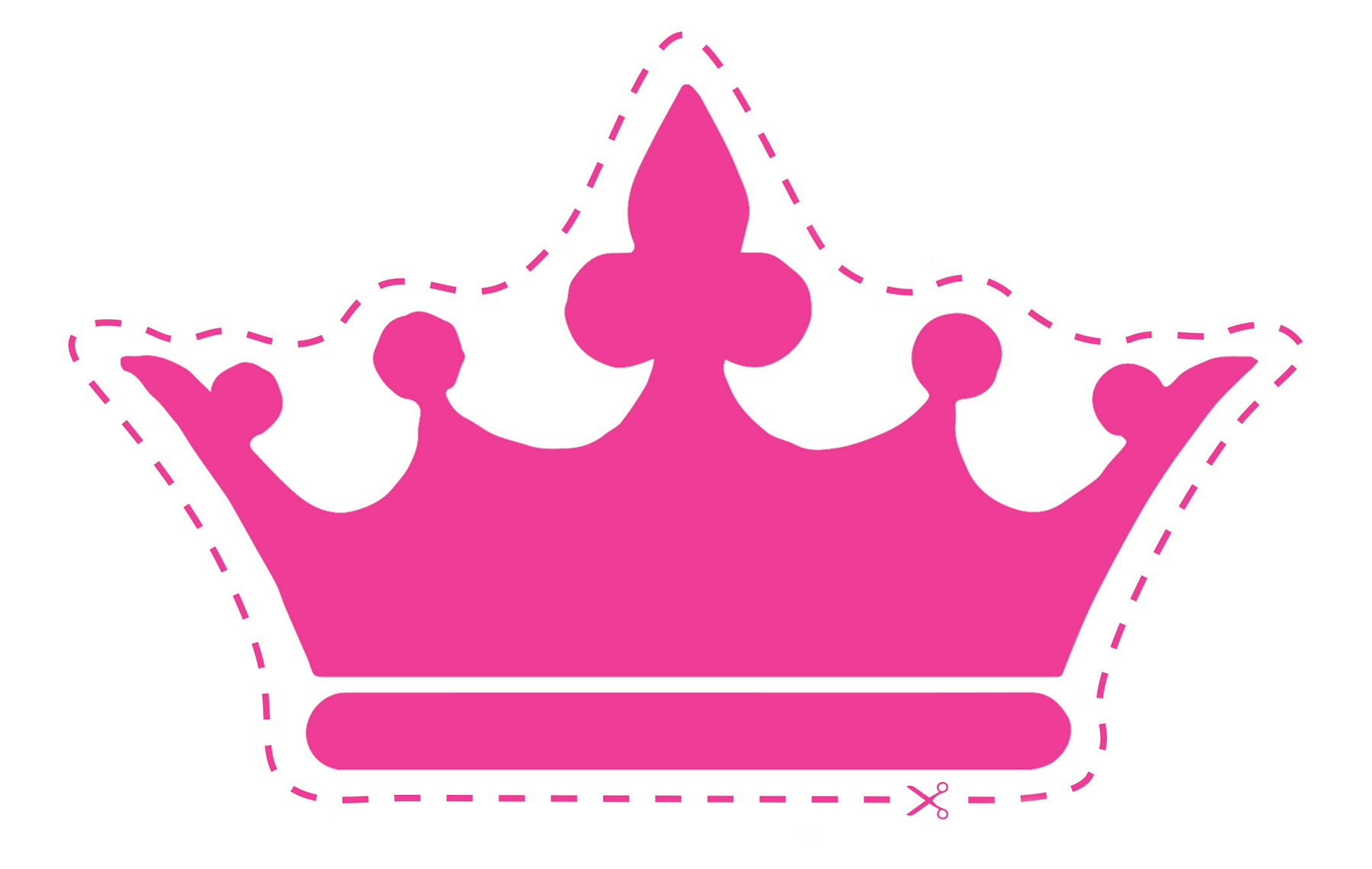 Pink Crown Clipart | Free download on ClipArtMag