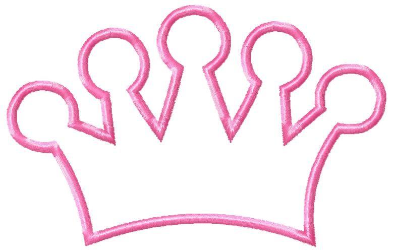 779x500 Drawn Crown Princess Clip Art