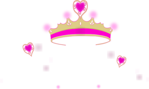 600x362 Pink Heart Crown Clip Art