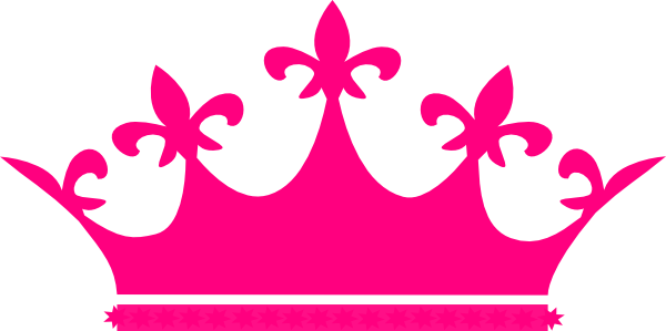 600x299 Pink Princess Crown Clipart Clipartfox