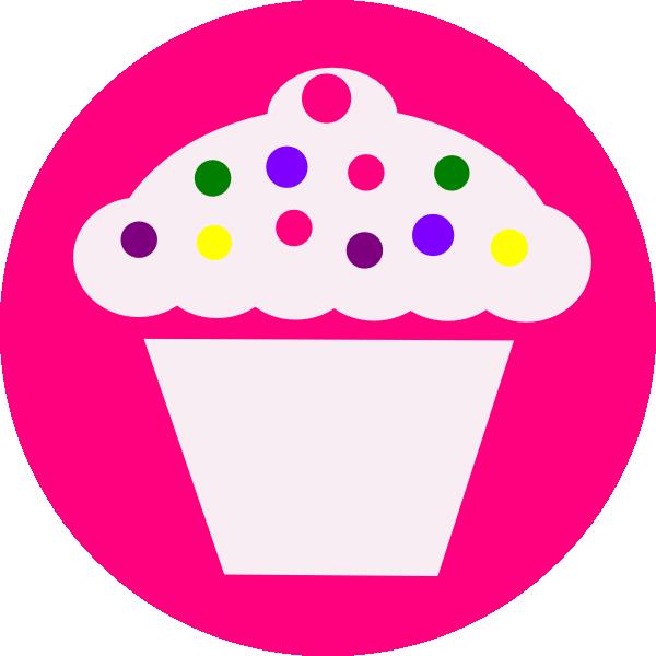 600x600 Cupcake Clip Art