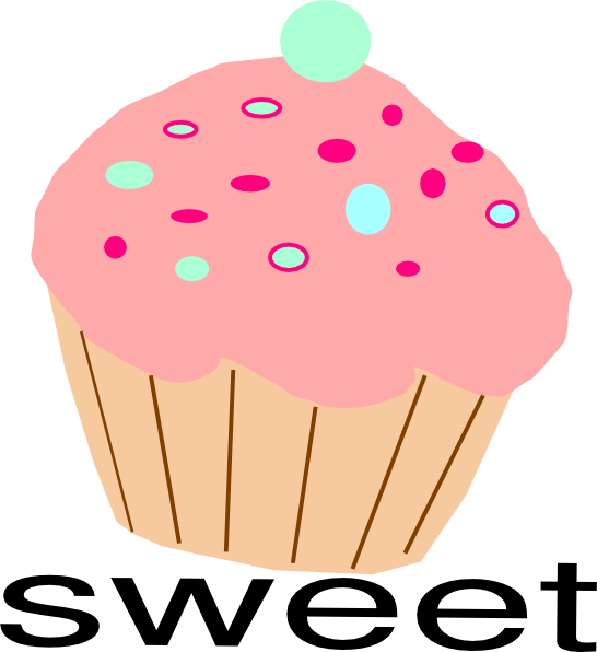 546x596 Cupcakes Cliparts