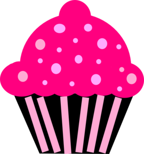 282x300 Muffin Clipart Pink Cupcake