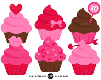 340x270 Pink Cupcake Clipart Digital Cupcakes Clip Art Png Girls Birthday
