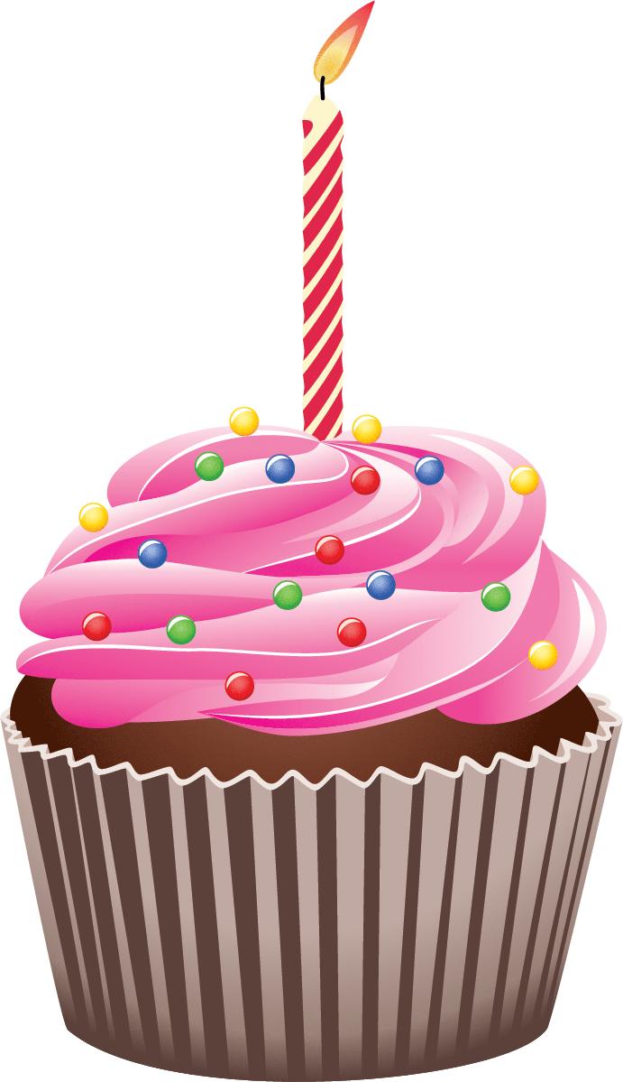 691x1199 Birthday Cupcake Clip Art Many Interesting Cliparts