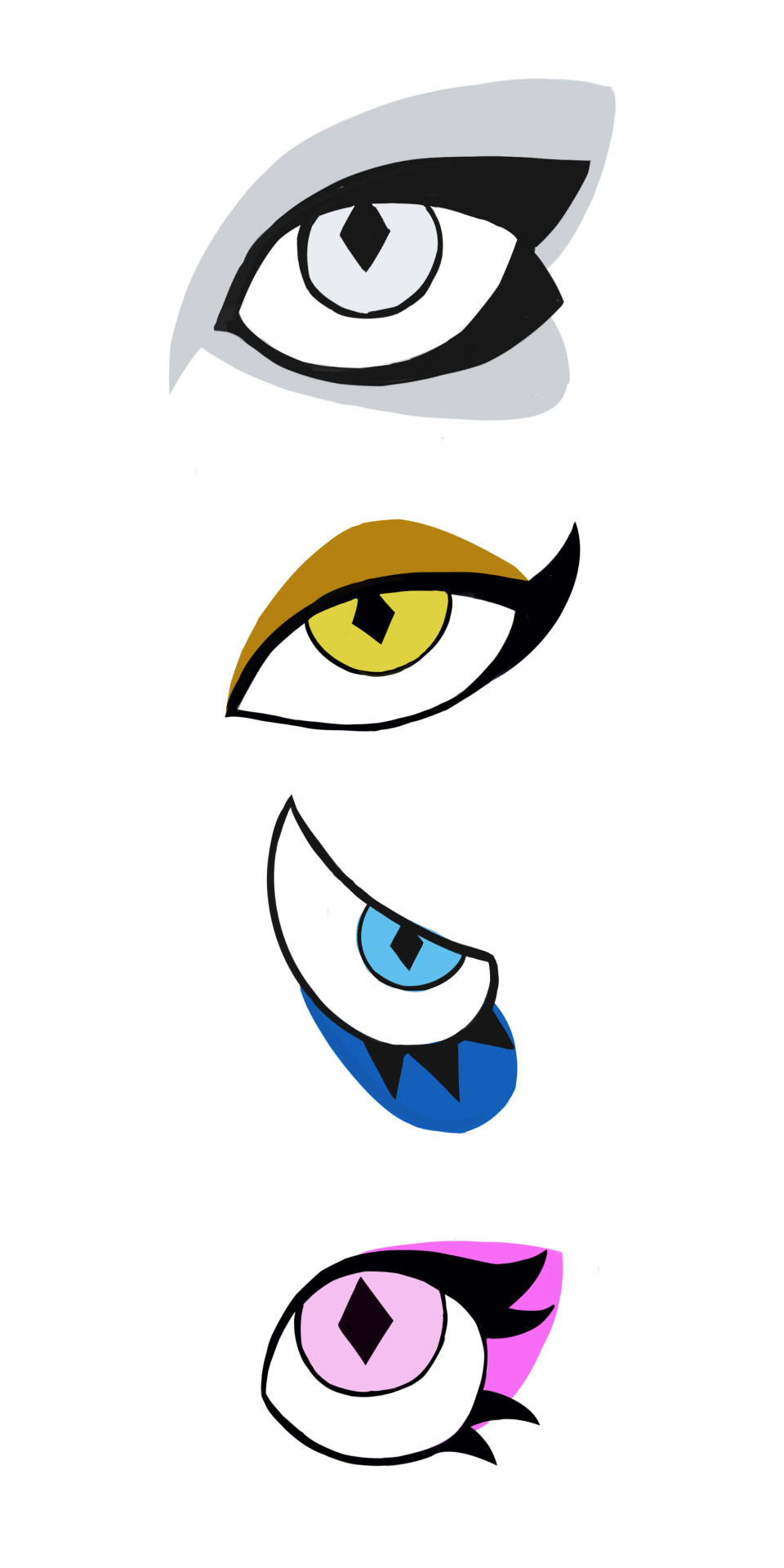960x1920 White Diamond And Pink Diamond Eye Design Prediction Steven